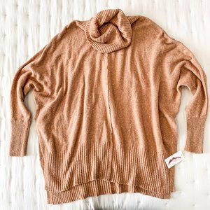Jessica Simpson NWT cowl neck tunic sweater